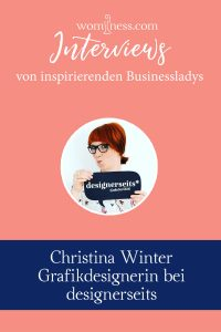 Interview Christina Winter Designerseits Grafikdesignerin
