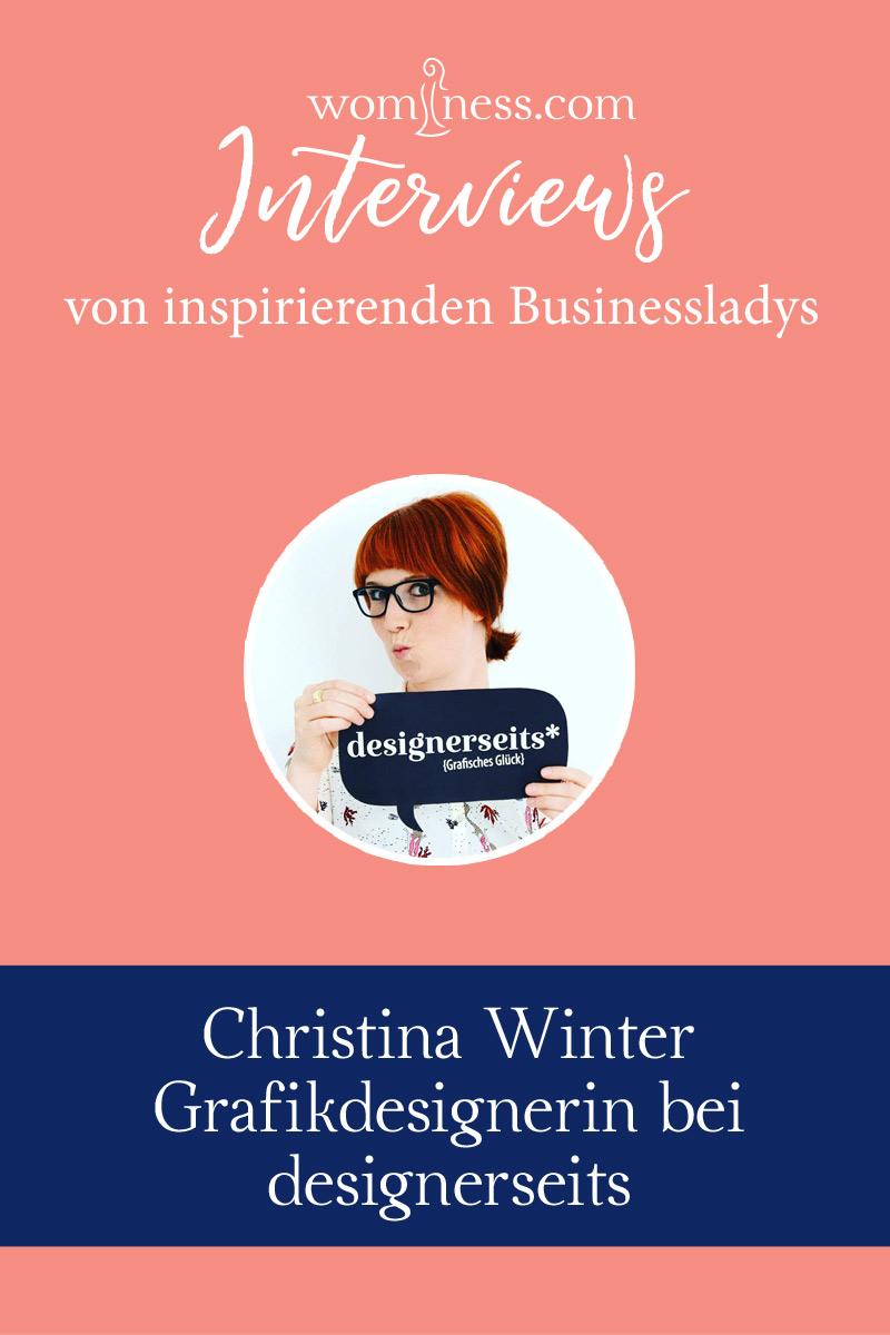 Interview Christina Winter Designerseits Grafikdesignerin