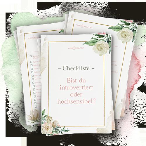 bistduhochsensibelintrovertiert-checkliste_Kraftvoll-auf-leise-Weise-hochsensible-introvertierte-Frau_wominess-VerenaSati